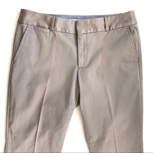 Banana Republic grey capris with stretch
